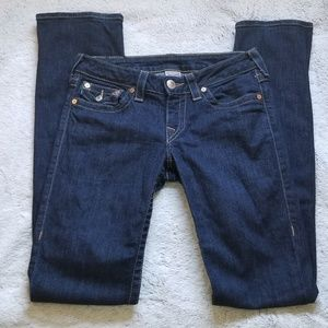 True Religion Jeans size 28 straight leg